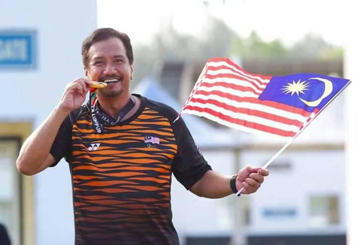 Sultan Mizan Zainal Abidin winning Gold medal in SEA Games 2017 equestrian endurance competition 80 KM
