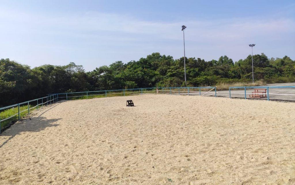 3S Equestrian Centre paddock