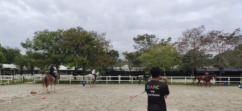 Riding Lesson at DARC